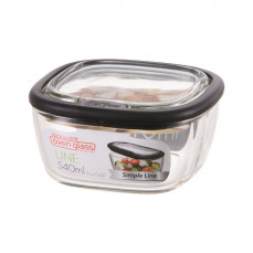 Heat resistant glass container 540 ml